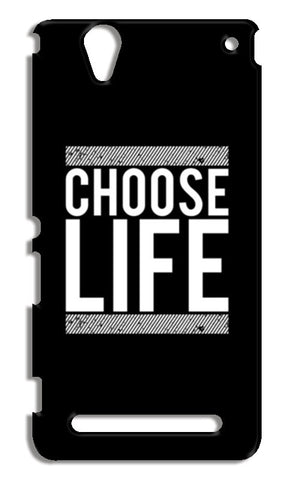 Choose Life Sony Xperia T2 Ultra Cases | Artist : Designerchennai