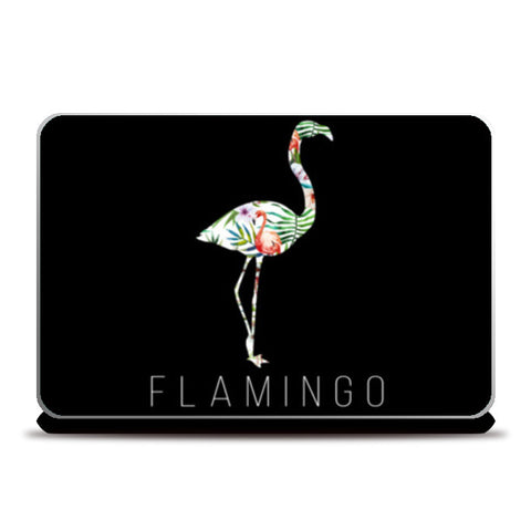 Flamingo Laptop Skins | Artist : DISHA BHANOT