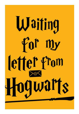 PosterGully Specials, Letter from Hogwarts - Harry Potter Wall Art | Artist : Manju Nk, - PosterGully