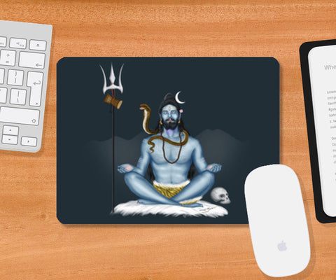 Mousepad, Shankar -The Destroyer Mousepad | Artist : Puneet Gaur Barnala, - PosterGully