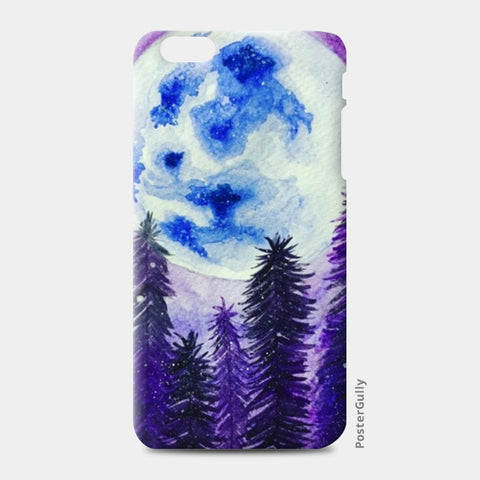 Moon Lit  iPhone 6 Plus/6S Plus Cases | Artist : Akshita Shah
