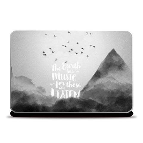 Laptop Skins, Mother Nature Laptop Skins | Artist : Jaydhrit Sur, - PosterGully