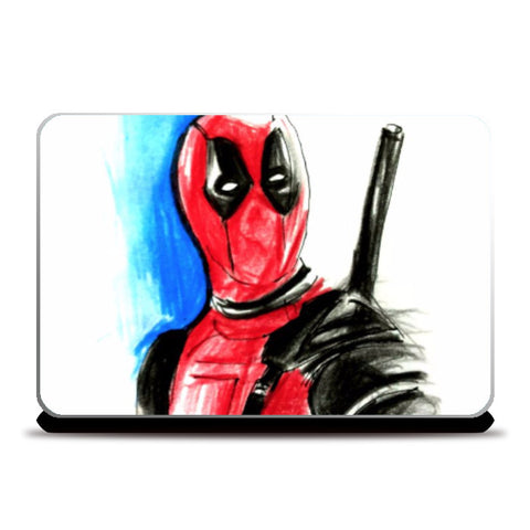 Laptop Skins, Deadpool Artwork Laptop Skin | Artist: Tridib Das, - PosterGully