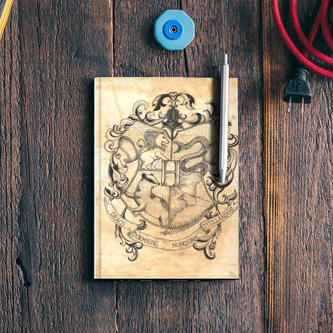 Cool Hogwarts Harry Potter Notebook Notebook | Artist : Anjali Nilakantan