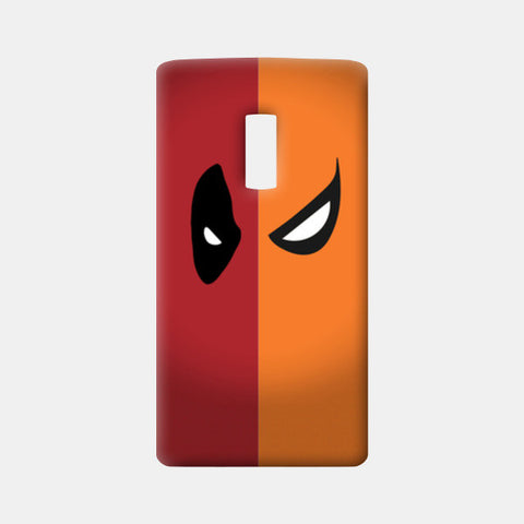 One Plus Two Cases, DeadPool vs DeathStroke One Plus Two Cases | Artist : Angad Singh, - PosterGully