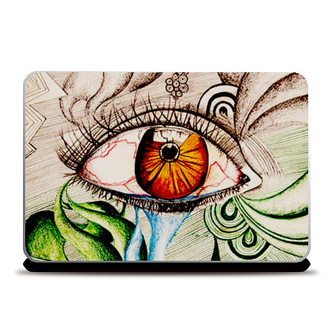 I am watching.. Laptop Skins | Artist : Its ZentTangleD