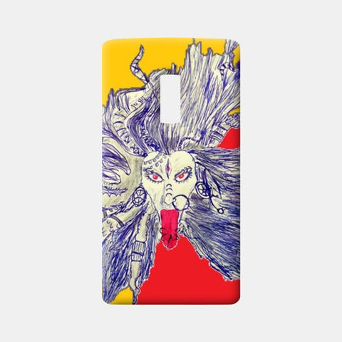 One Plus Two Cases, Goddess Kaali One Plus Two Cases | Artist : Piyush Sain, - PosterGully