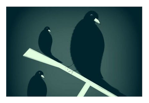Crows Wall Art  | Artist : Pratyasha Nithin