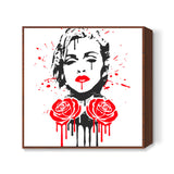 Rebel Heart Square Art Prints | Artist : Durro Art