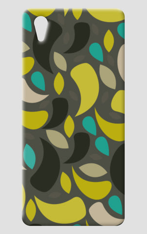 Seamless leaf geometric shapes One Plus X Cases | Artist : Designerchennai