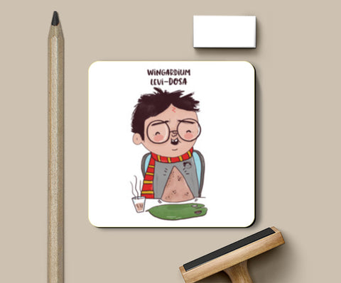 PosterGully Coasters, Harry Potter & Dosa Coasters | Artist : Doodleodrama, - PosterGully