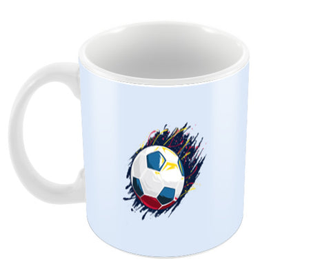 Smash Kick Football Art | #Footballfan Coffee Mugs | Artist : Creative DJ