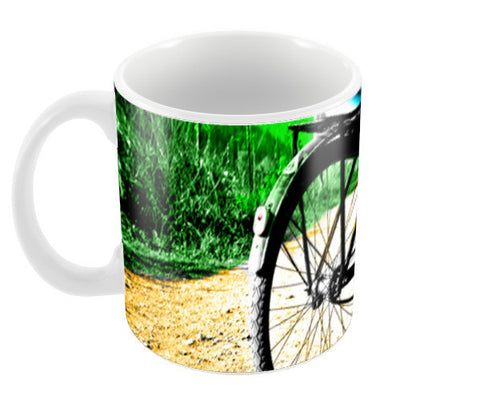 Cyclist Coffee Mugs | Artist : Tiny Dots