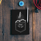 rocket in my pocket Notebook | Artist : Himanshu Sood