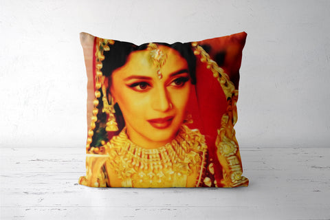 Bollywood Madhuri Devdas Portrait Cushion Covers | Artist : Rameshwar Chawla