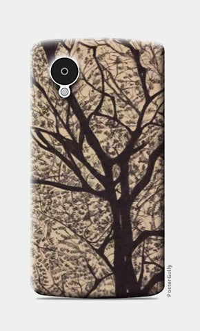Nexus 5 Cases, Trees Ink Trails Nexus 5 Case | Artist: Archana Narendran, - PosterGully