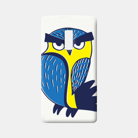 One Plus Two Cases, Angry Owl One Plus Two Cases | Artist : Pratyusha Subramaniam, - PosterGully