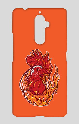 Rooster On Fire Lenovo K8 Note Cases | Artist : Inderpreet Singh
