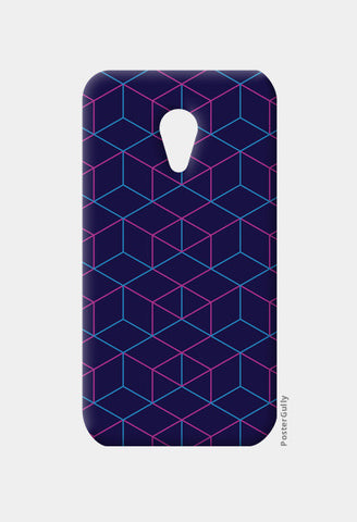 Moto G2 Cases, Isometric Pattern Moto G2 Cases | Artist : Jobin Jacob, - PosterGully