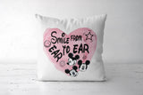 Smile From Ear To Ear Cushion Covers | Artist : Anniez Artwork