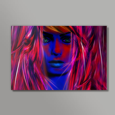 Miss psychedelic! Metal Prints | Artist : Jessica Maria