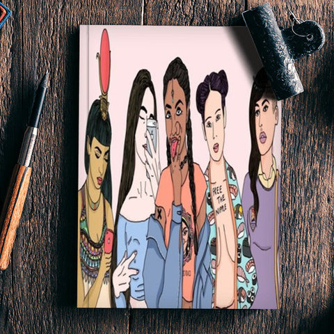 Divine Goddesses Notebook | Artist : Priyanka Paul