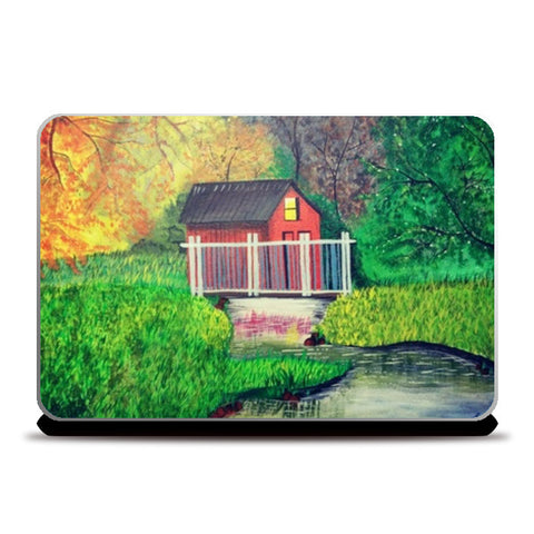Into the Nature Painting Laptop Skins | Artist : Pallavi Rawal
