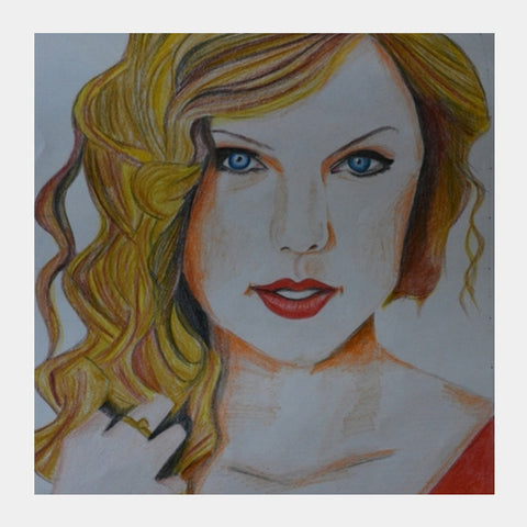 Square Art Prints, Taylor Swift Love Square Art | Chahat Suri, - PosterGully