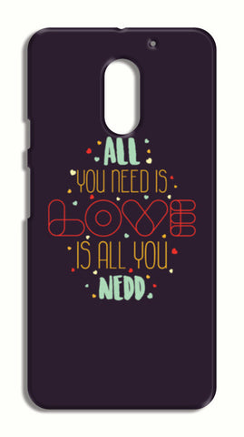 All you need is love is all you need LeEco Le2 Cases | Artist : Designerchennai