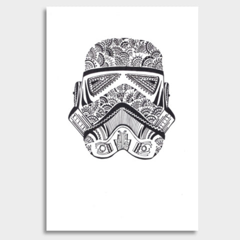 storm trooper  Giant Poster | Artist : All the randomness