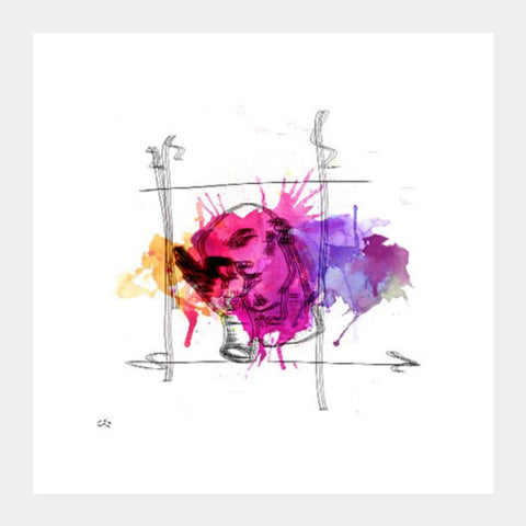 Blur Bliss Wall Art Poster Square Art Prints PosterGully Specials