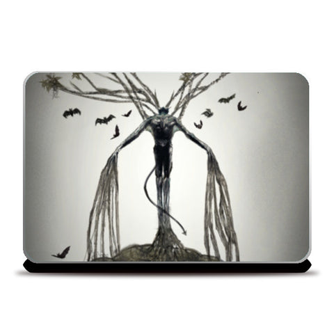 Abstract Art (The Tree of Lust) Laptop Skins | Artist : kapil Verma