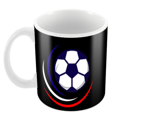 Glowing Football | #Footballfan Coffee Mugs | Artist : Creative DJ