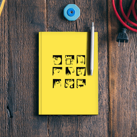 Expression Yellow Notebook | Artist : Anagha Varma