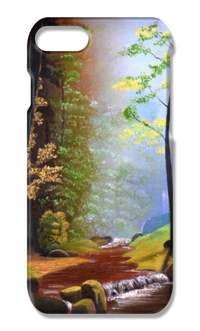 Forest Oil Painting iPhone 7 Plus Cases | Artist : Rahul Tanwar
