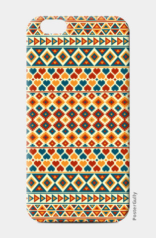 Aztec Pattern iPhone 6/6S Cases | Artist : Dhruv Narelia