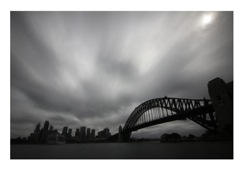 Sydney Opera And Harbour Bridge Wall Art PosterGully Specials