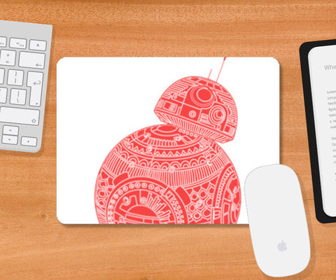 BB8 STAR WARS Mousepad | Artist : GRAFIIKKA