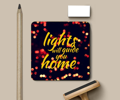 Coasters, Lights will guide you home | Coldplay | Coasters | Artist : Nikhil Wad, - PosterGully
