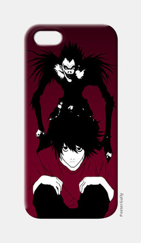 "death note ""L"" iPhone 5 Cases 