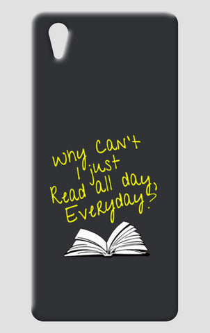 Why Can't I Just Read All Day? One Plus X Cases | Artist : Kaushal Faujdar
