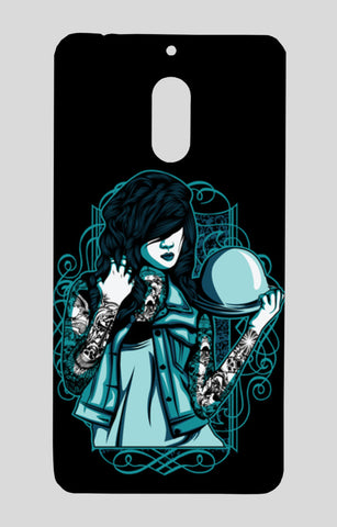 Woman With Tattoos Nokia 6 Cases | Artist : Inderpreet Singh