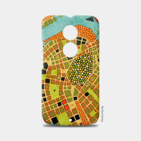 Moto X2 Cases, imaginary map of Koblenz Moto X2 Cases | Artist : federico cortese, - PosterGully