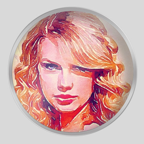 Taylor Swift Tin Can | Artist : Delusion