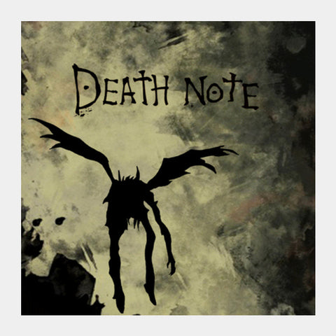 Death note Square Art Prints | Artist : BY Darakhsha Dandekar and Karan Mehta