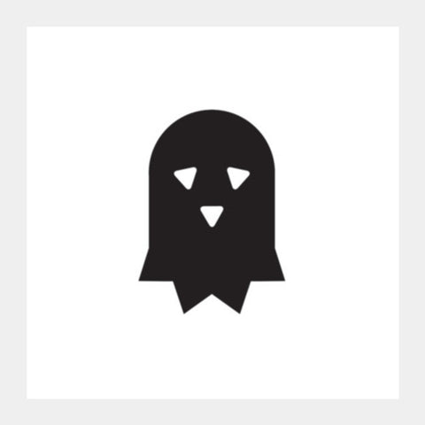 Ghost Mask Square Art Prints PosterGully Specials