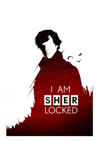 I am Sherlocked Wall Art | Artist : Pankaj Utekar