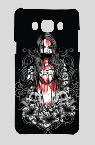 Girl With Tattoo Samsung On8 Cases | Artist : Inderpreet Singh