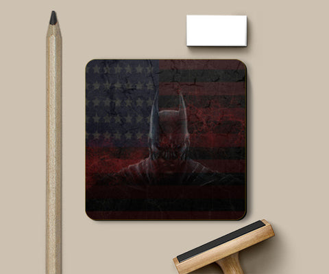 Batman Dark Knight Coasters | Artist : Tiny Dots
