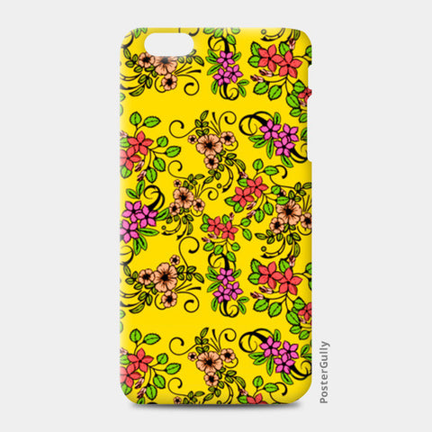 iPhone 6/6S Plus Cases, Retro Floral Pattern iPhone 6 Plus/6S Plus Cases | Artist : Sudhakar Kamath, - PosterGully